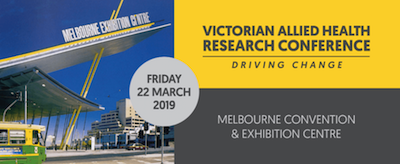 Victorian Allied Health Research Conference 2019